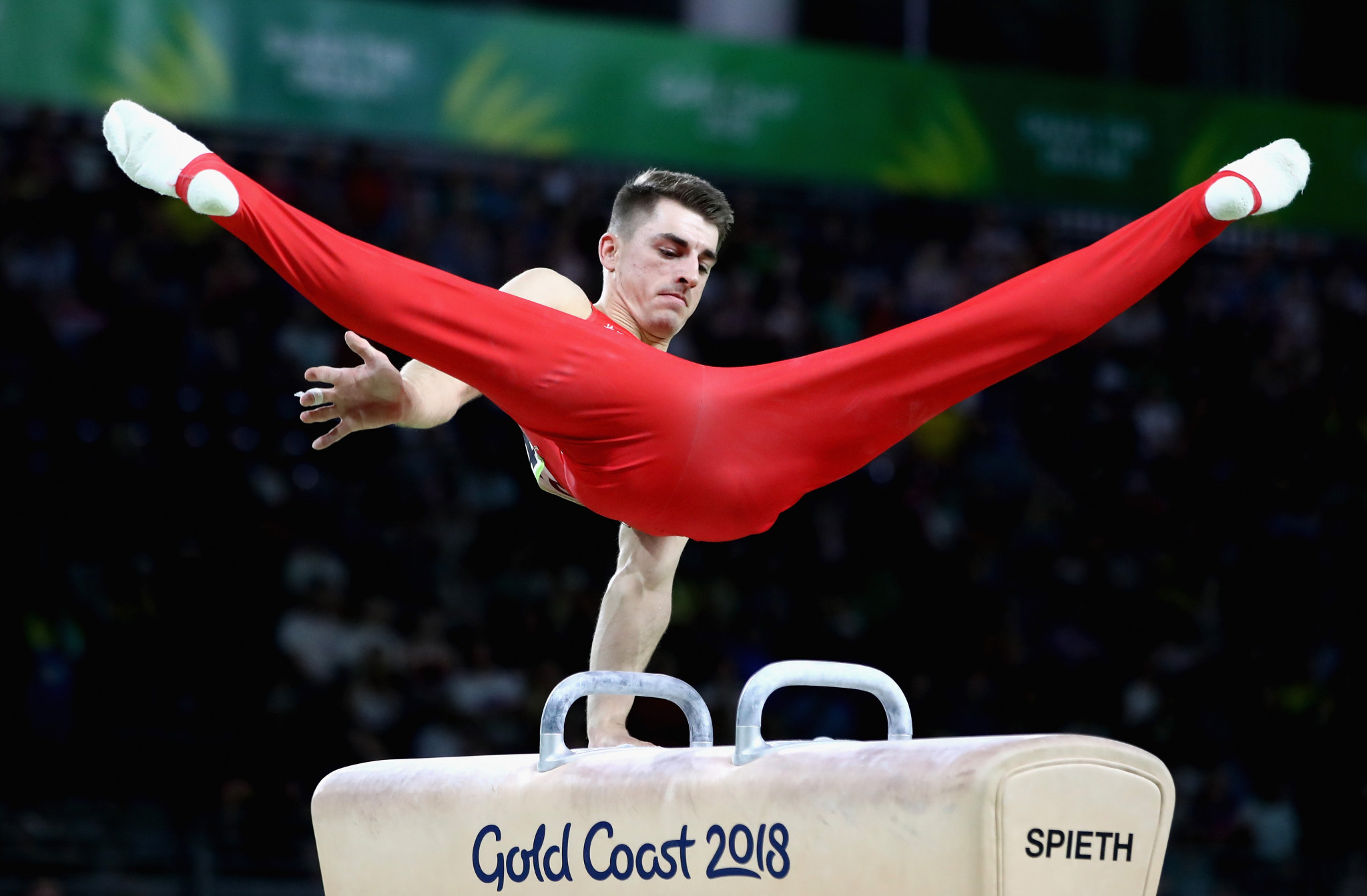 Max Whitlock has promised more on the pommel horse ©Getty Images