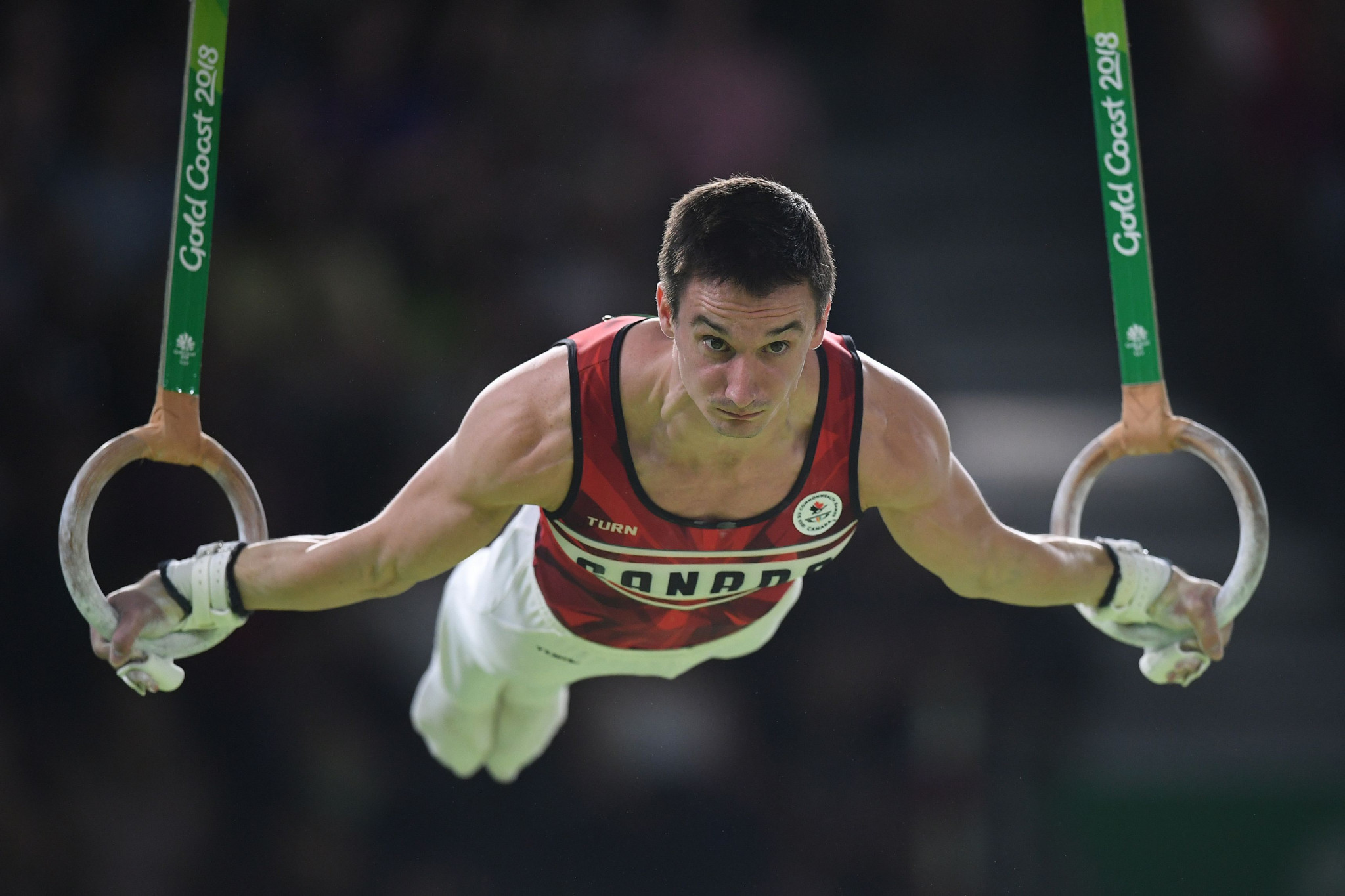 Zachary Clay and Canada improved on their Glasgow 2014 bronze with silver ©Getty Images