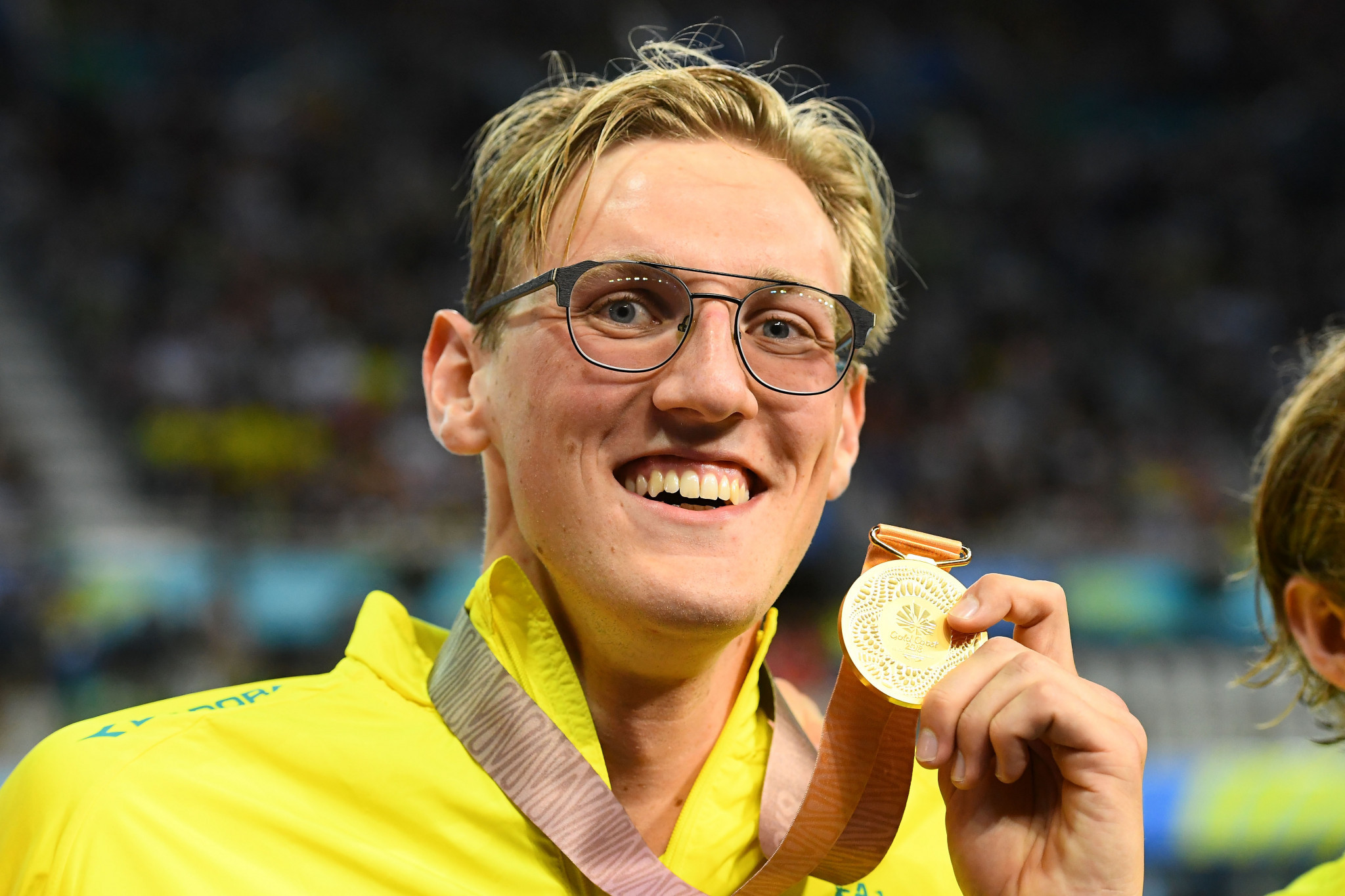 Mack Horton claimed Australia's first gold medal at Gold Coast 2018 ©Getty Images