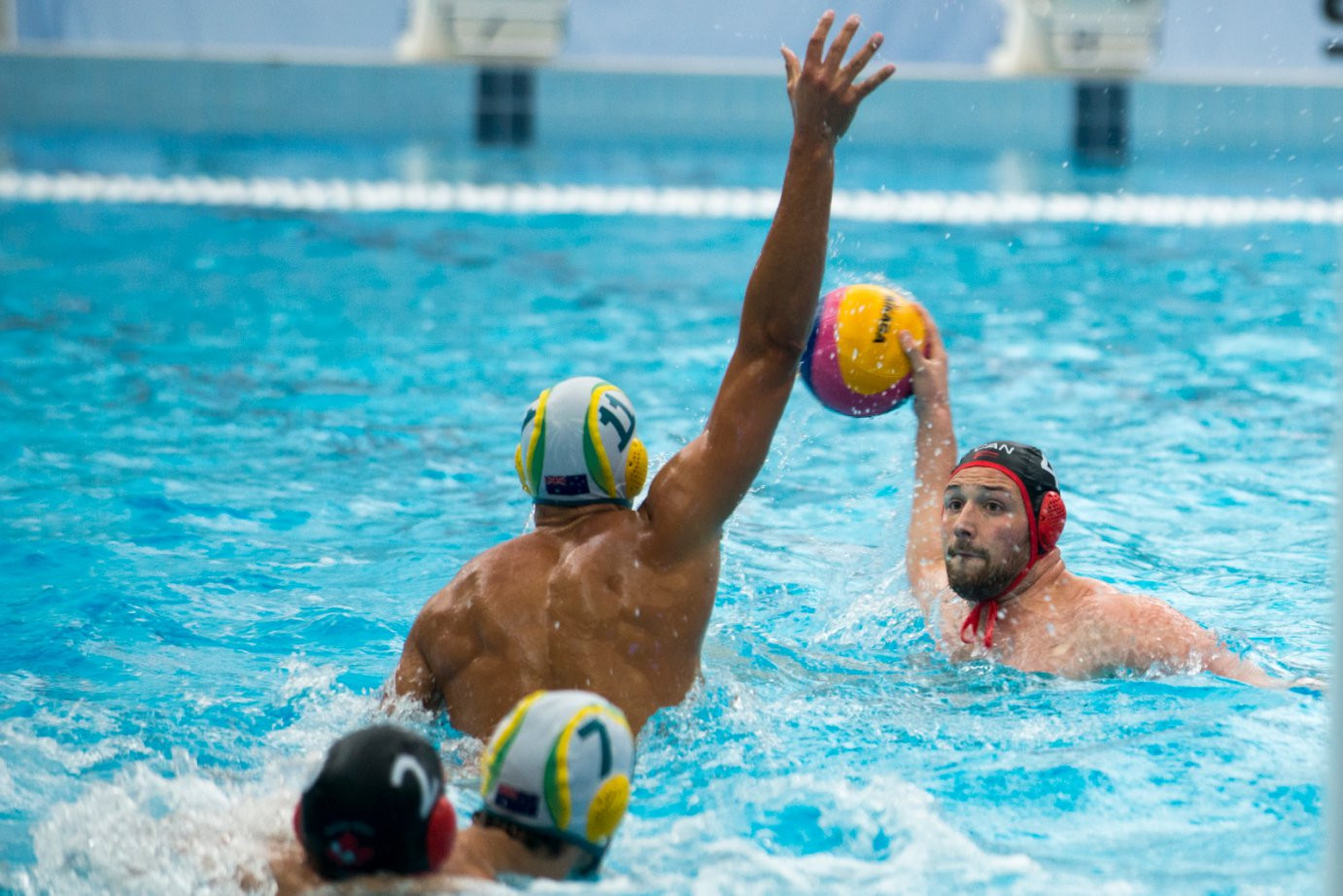 Australia's men have put themselves in a strong position in the Water Polo World League Intercontinental Cup ©FINA