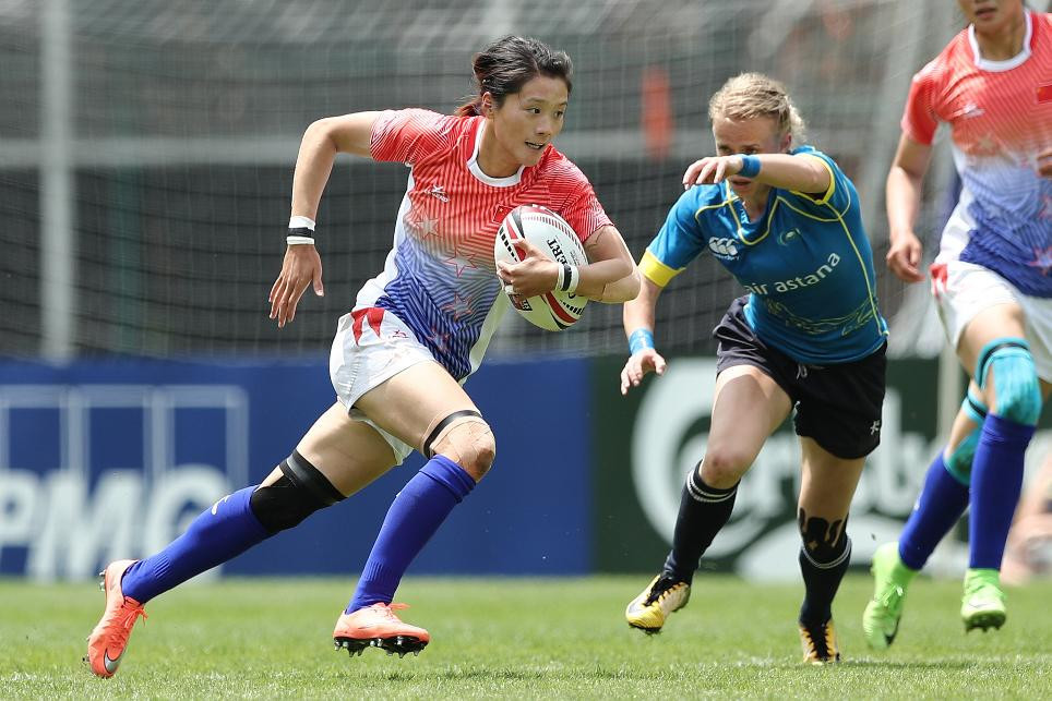 Three nations make perfect start to World Rugby Women's Sevens Series qualifier in Hong Kong