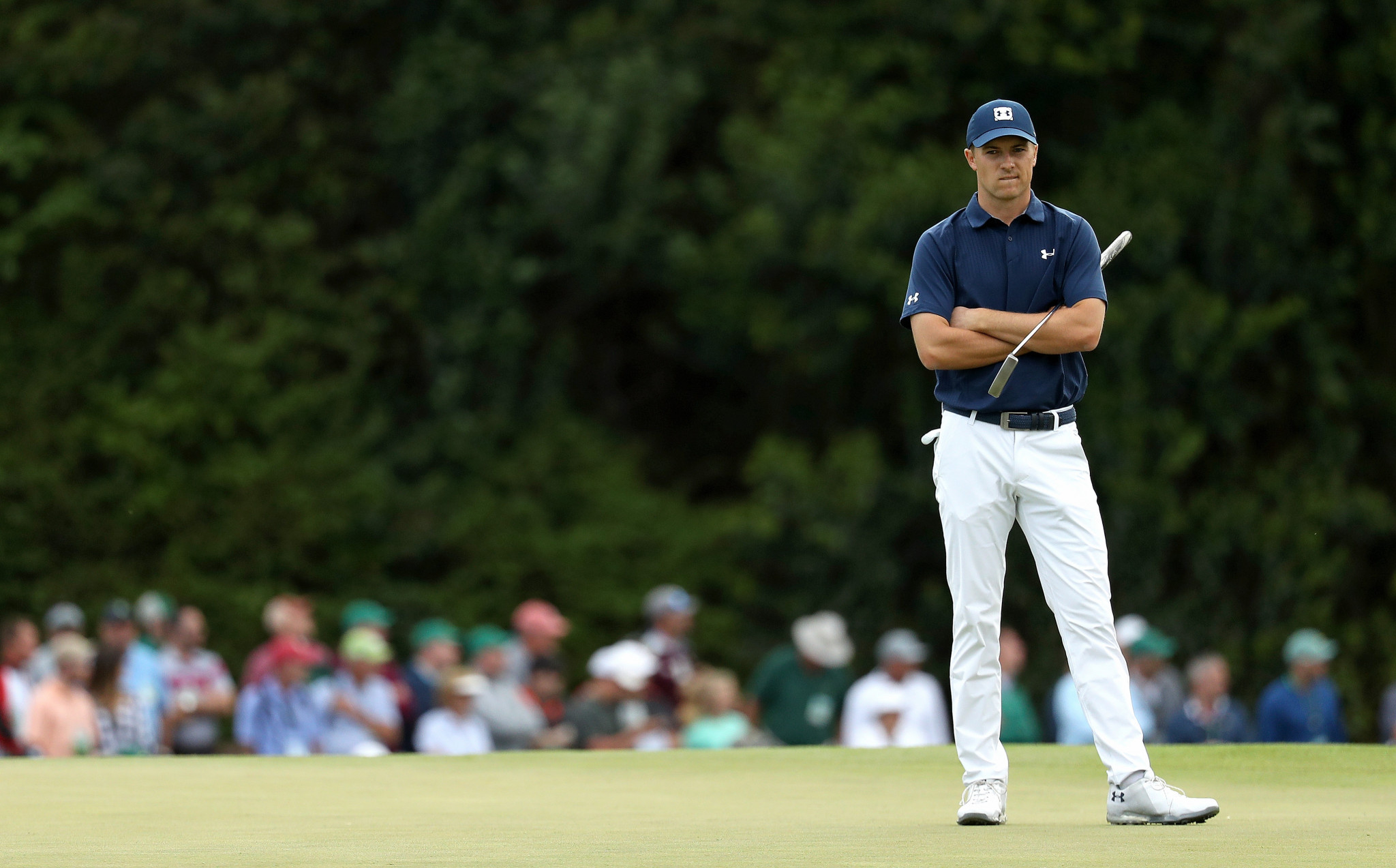 Jordan Spieth is the leader after the first round ©Getty Images