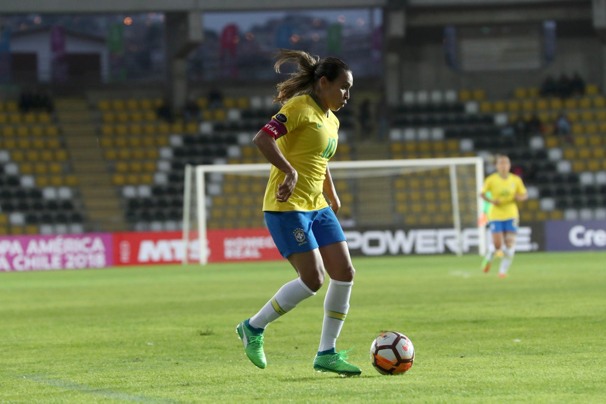 Brazil triumphed in their first match of the competition ©Twitter/Copa America Femenina