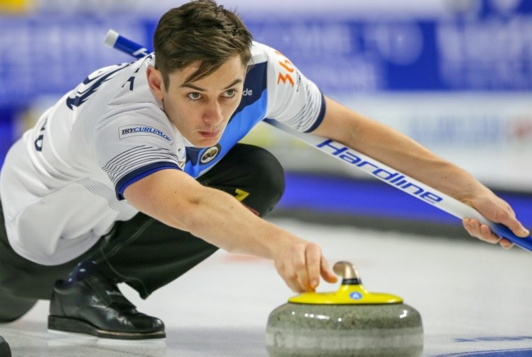 Scotland and Sweden lead standings as Canada also progress at World Men's Curling Championship