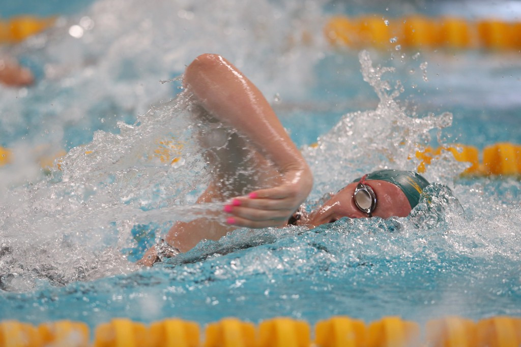 Shayna Jack helped Australia claim gold in the girl's 4x200m freestyle relay on an outstanding day for her nation