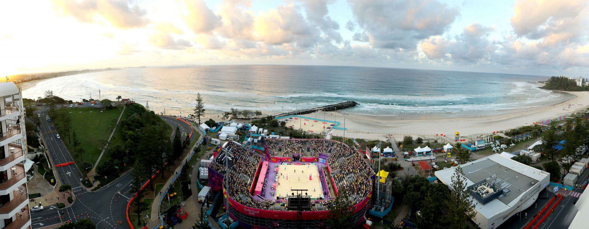 Beach Volleyball Makes Commonwealth Games Debut On Gold Coast Sands