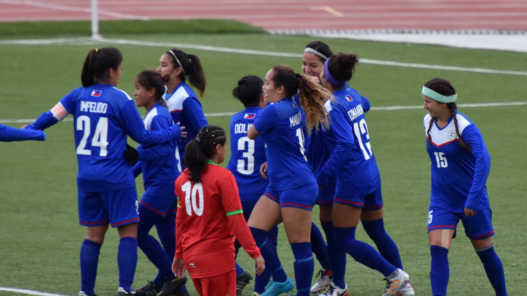 Malditas stun Jordan in AFC Women's Asian Cup opener