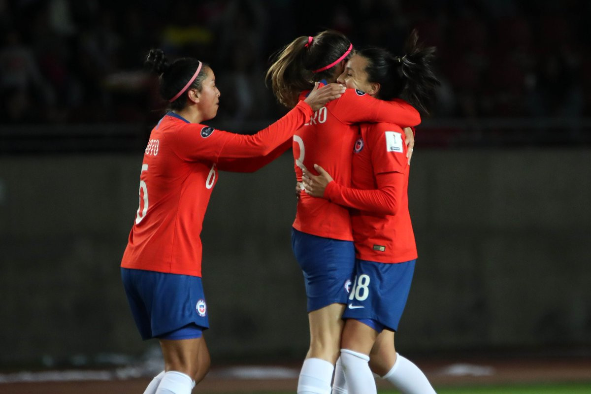 Hosts Chile hold Colombia at Copa América Femenina 225d2b8504542