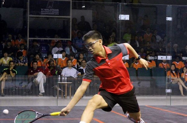 Malaysia sweep squash golds on second day of Samoa 2015