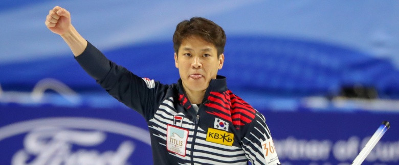 South Korea and United States progress to play-offs at World Men's Curling Championship