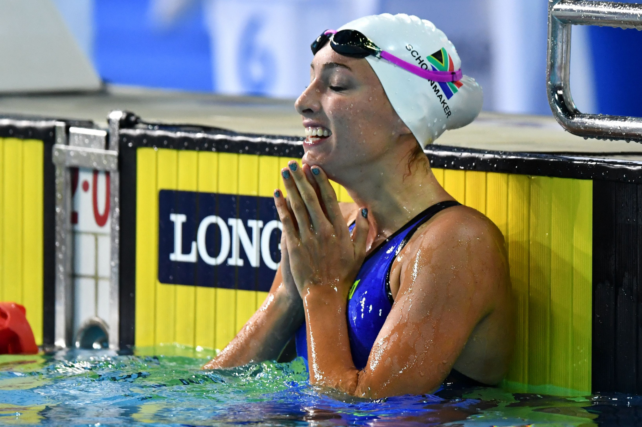 Tatjana Schoenmaker also won gold today on a good night for South Africa ©Getty Images