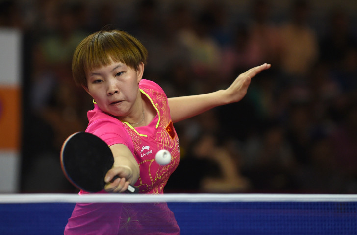 China's Zhu Yuling will defend her Asian Cup women's singles title against team-mate Chen Meng in Yokohama ©ITTF
