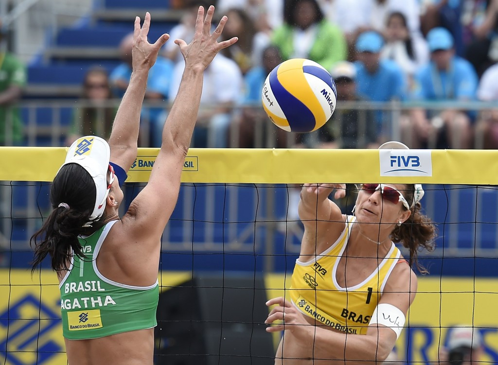 The Rio Open served as a beach volleyball test event