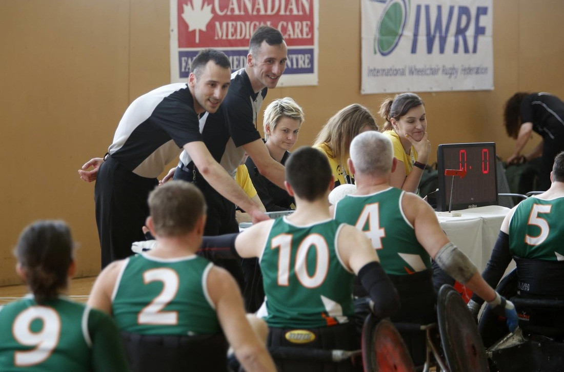 Ireland will face New Zealand in tomorrow's final  ©Irish Wheelchair Rugby
