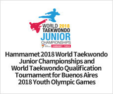 "World Taekwondo ""deeply regrets"" the ban imposed on Israeli athletes at the World Junior Championships about to start in Tunisia"