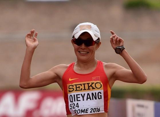 Qieyang Shenjie and Diego Garcia triumph at IAAF Race Walking Challenge in Rio Maior