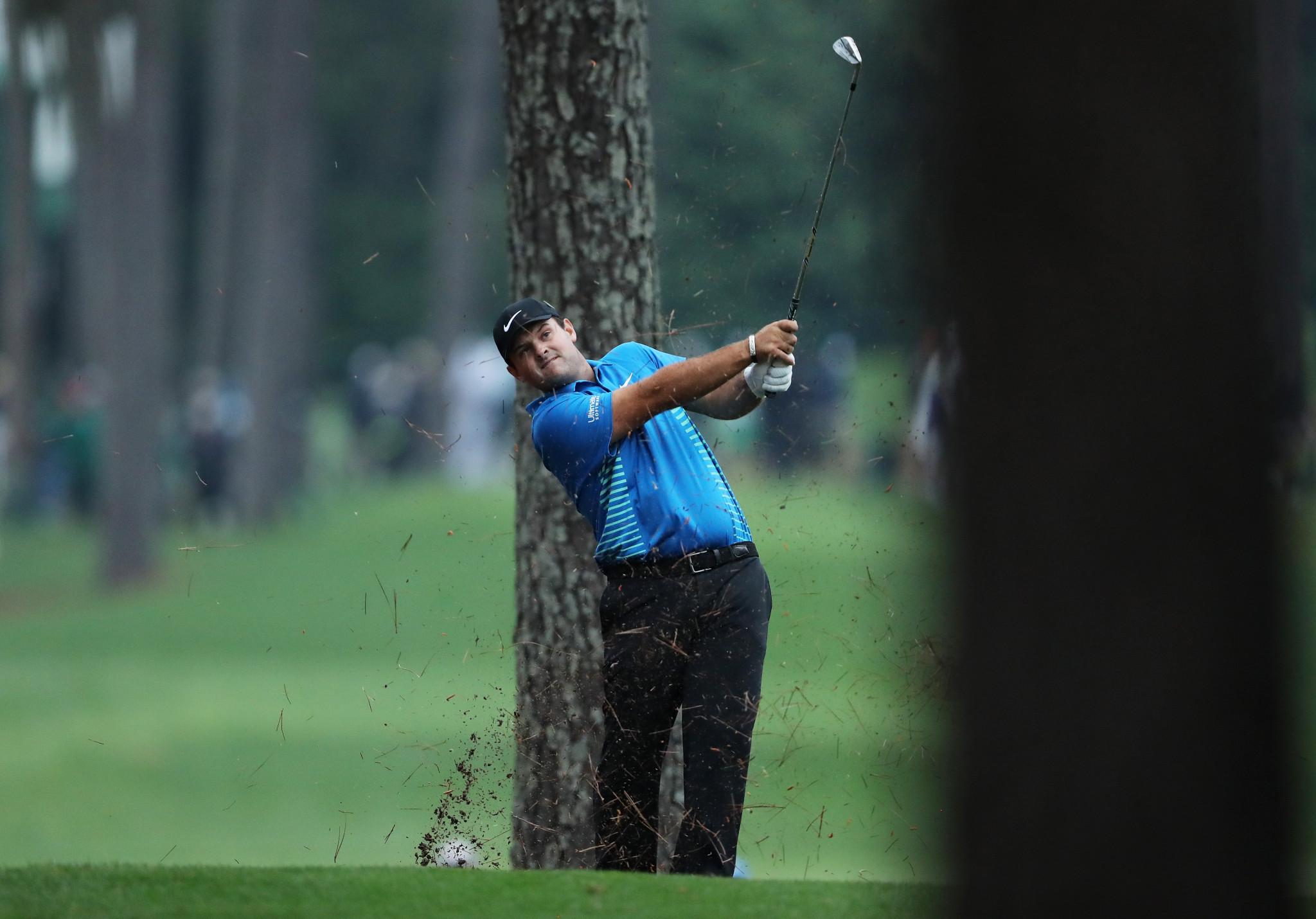 Patrick Reed is the leader going into the final round ©Getty Images