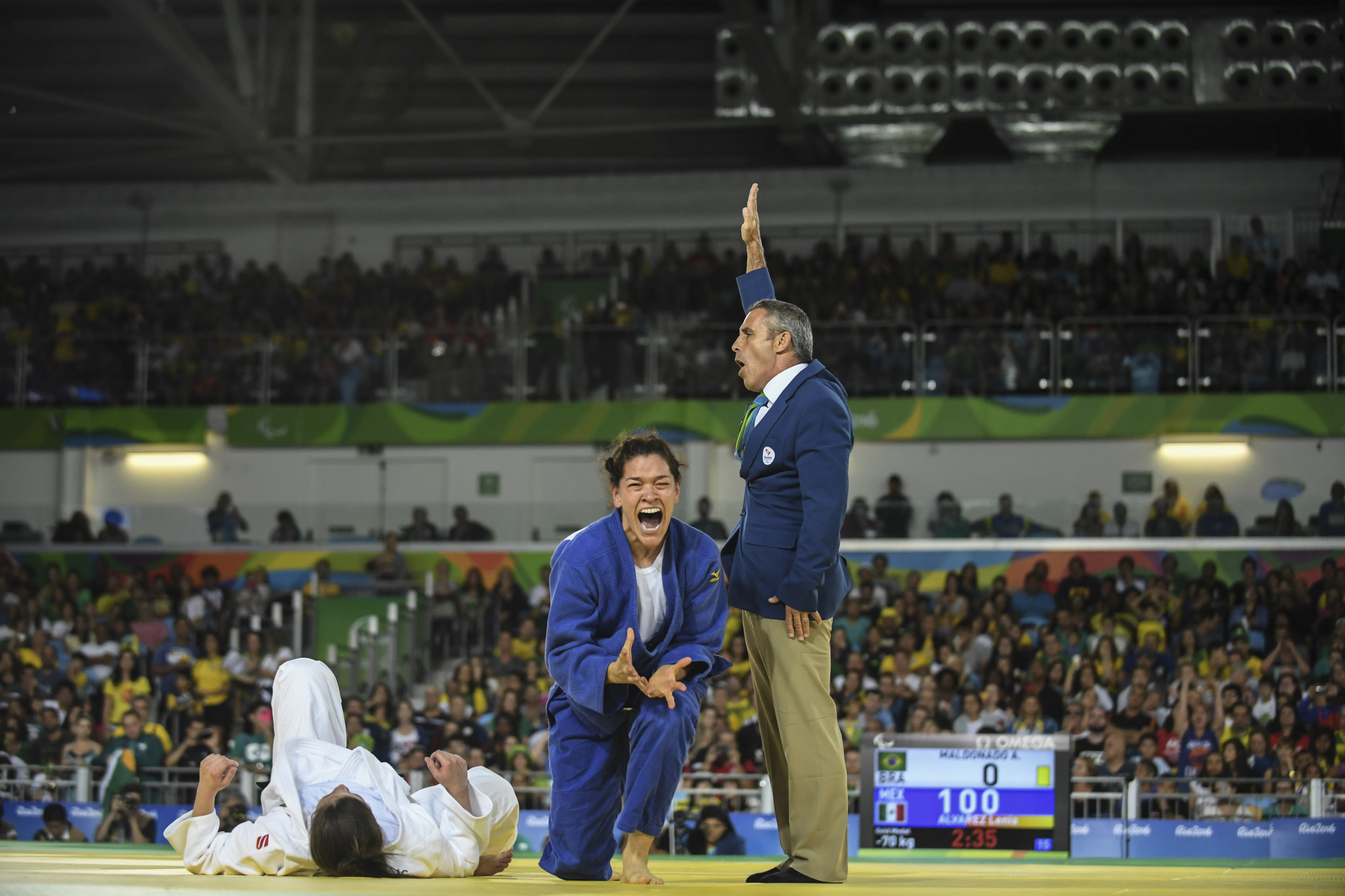 Mexican looks to IBSA Judo Pan American Championship to launch new campaign
