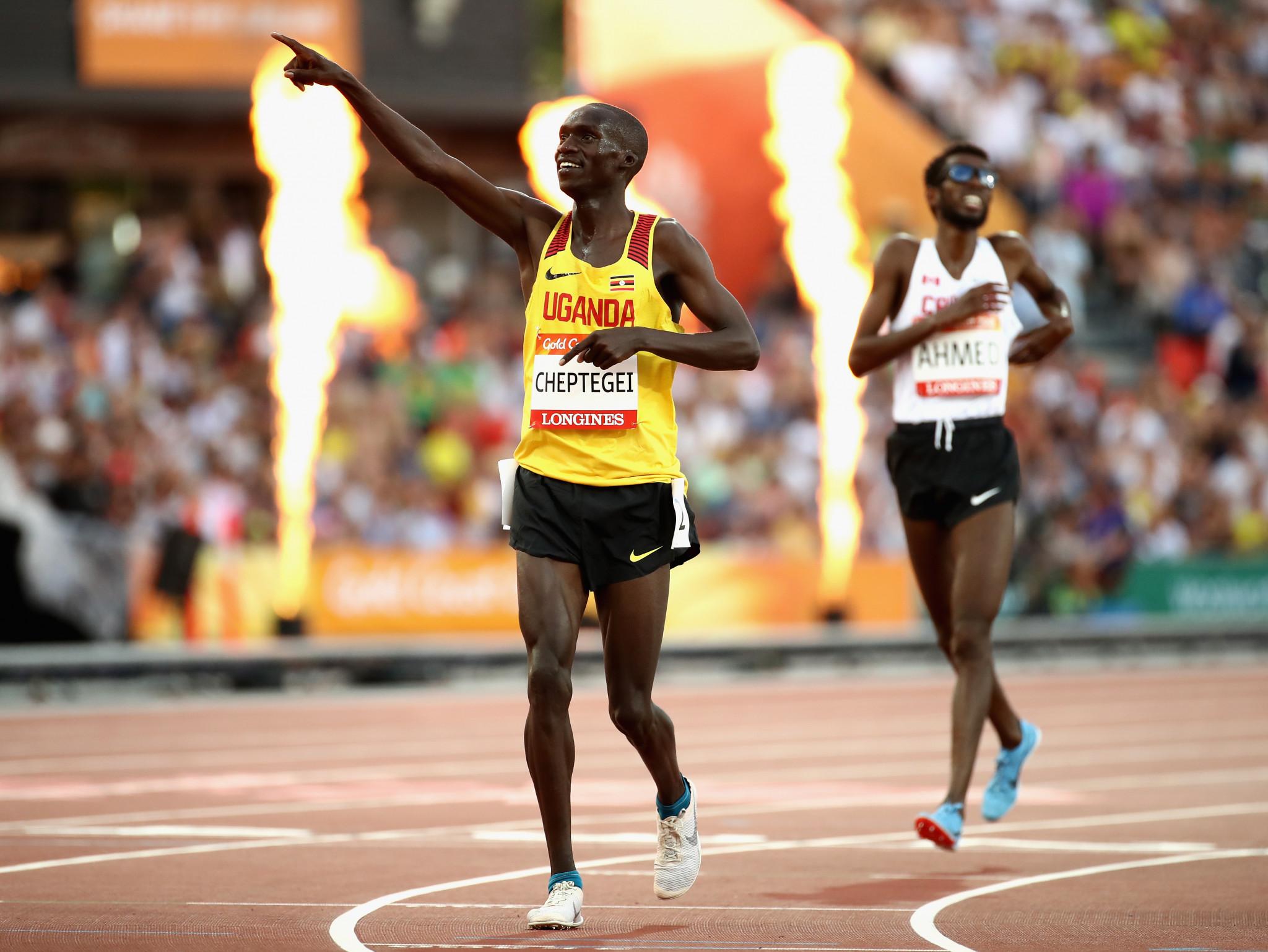 Uganda's Joshua Cheptegei wins 2018 Commonwealth 5000m gold medal
