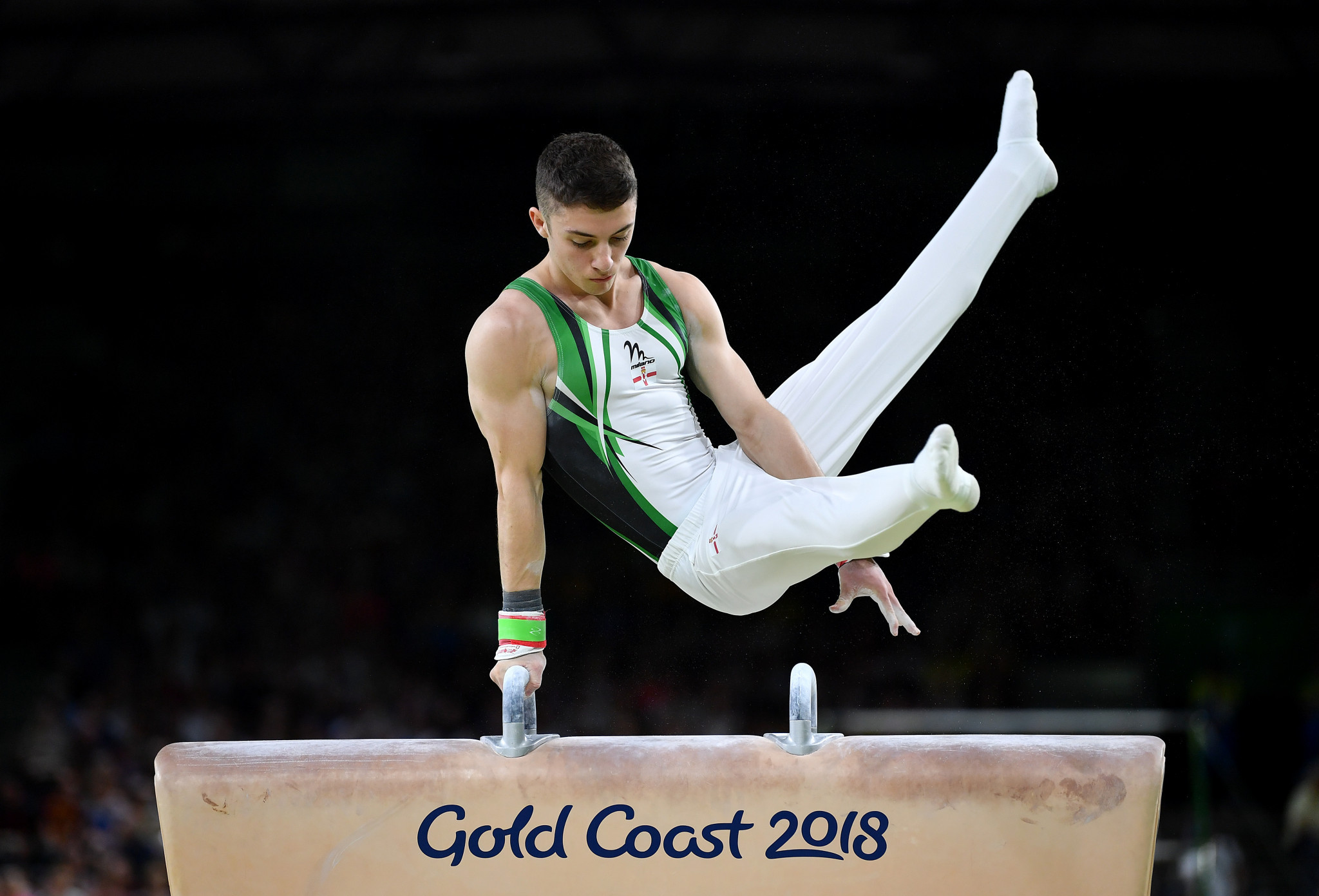 McClenaghan and Georgiou secure surprise gold medals as Olympic champion Whitlock ends without individual title at Gold Coast 2018