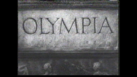 Olympia remains as one of the most significant films on the Olympic Movement ©Olympia