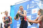 Holland returns from injury to take maiden World Triathlon Series victory