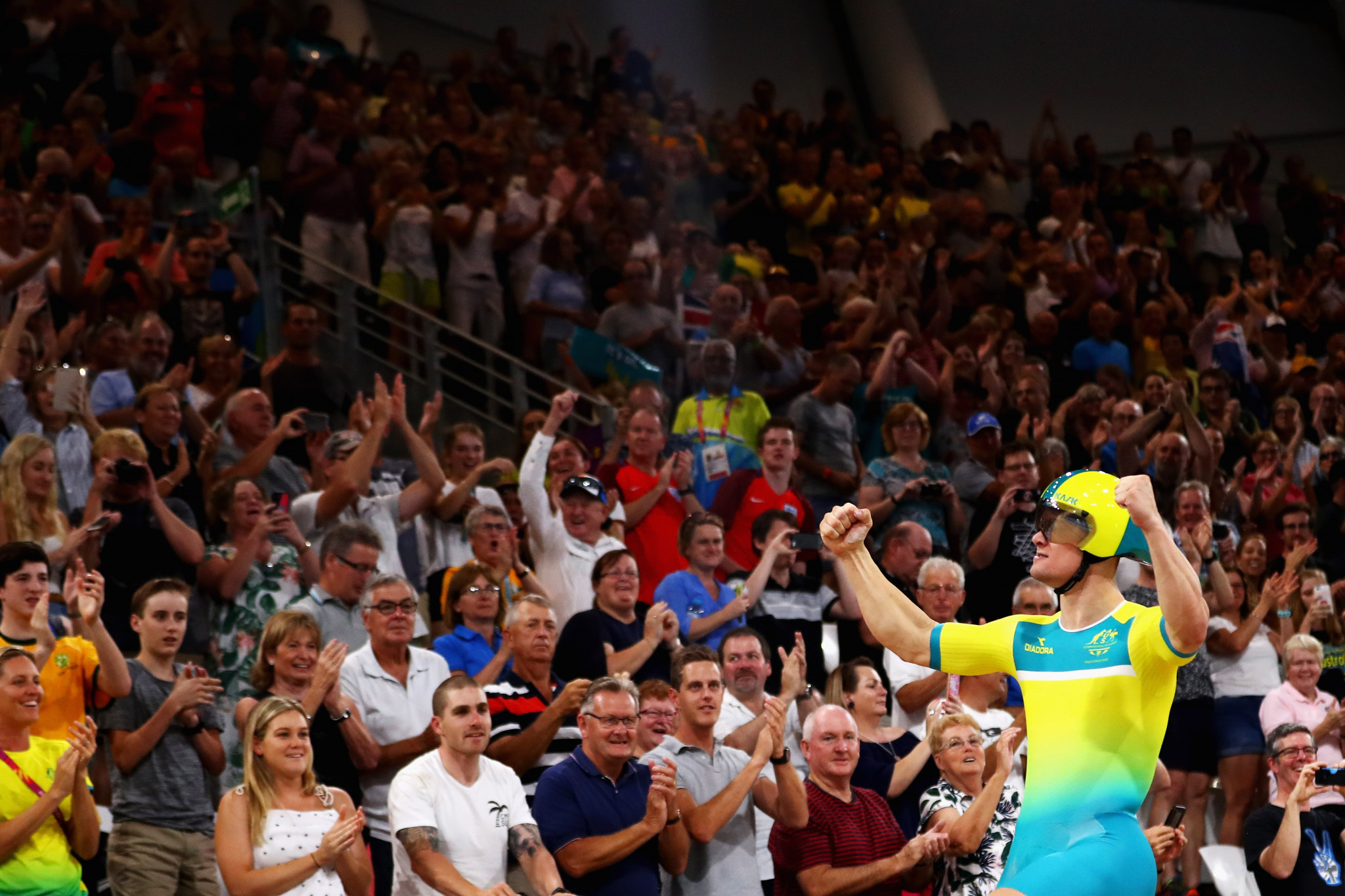 Glaetzer and Morton star again as track cycling action concludes at Gold Coast 2018
