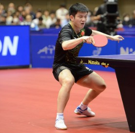 China's world number one earns first ITTF Asian Cup win in Yokohama