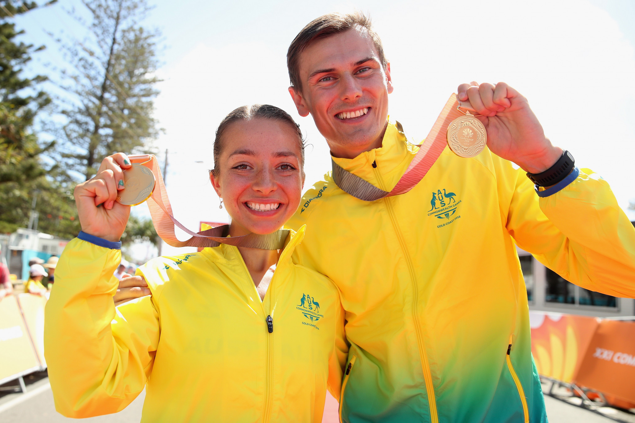 Australia secure double race walking gold as athletics action begins on day four of Gold Coast 2018 Commonwealth Games