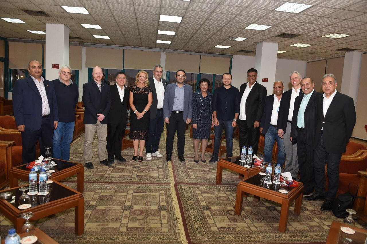 The INAS Governing Board met in Cairo ©INAS