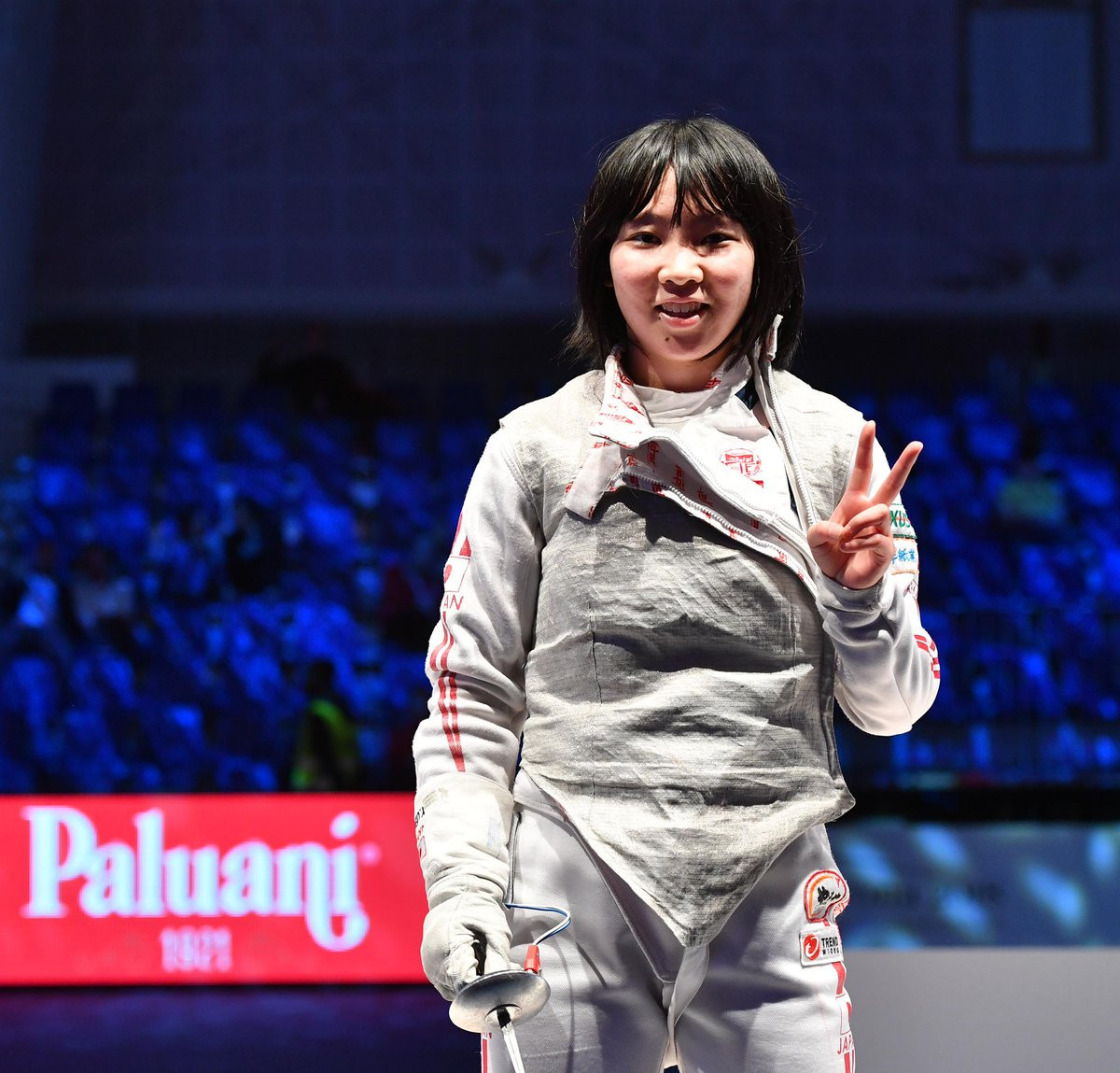 Ueno collects second individual foil gold at Junior and Cadets World Fencing Championships