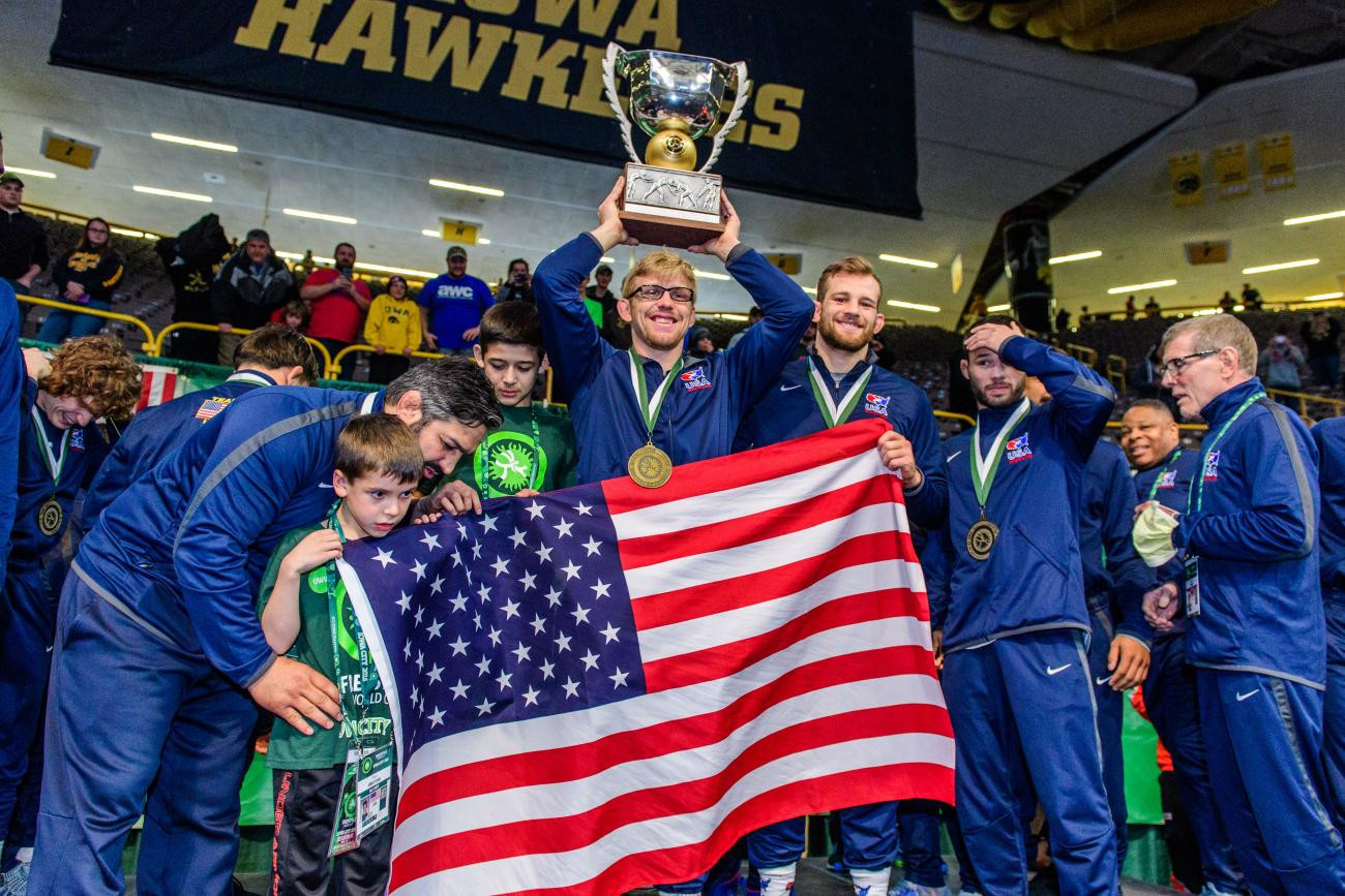 Snyder clinches United States' first UWW Men's Freestyle World Cup triumph since 2003