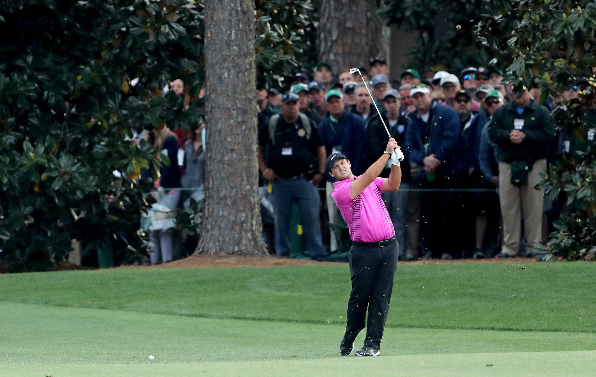 Patrick Reed claimed a one-shot victory at The Masters ©Getty Images
