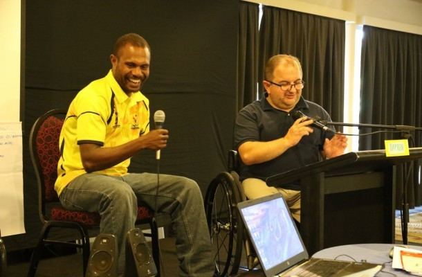 Port Moresby 2015 host disability awareness workshop