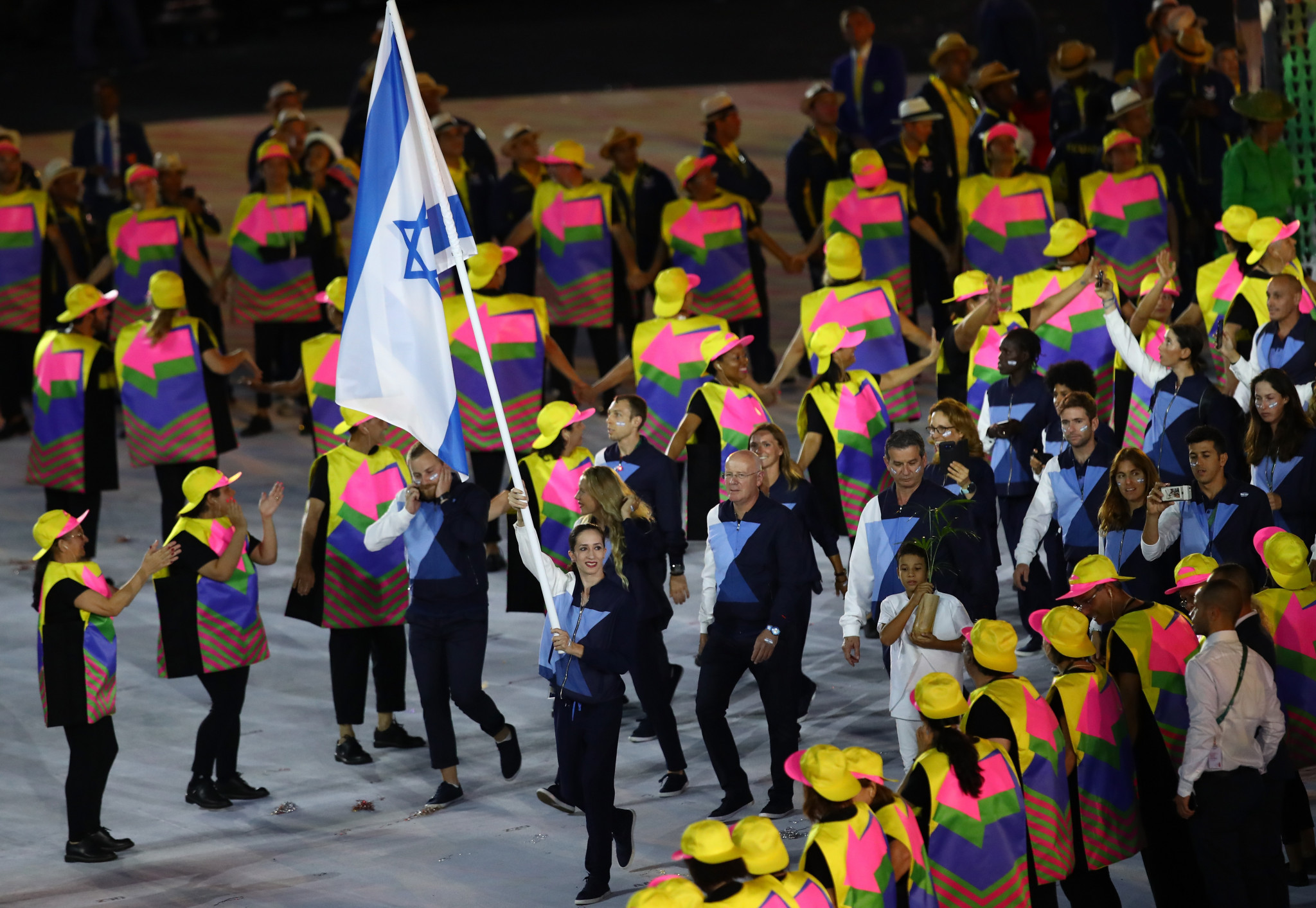 The Olympic Charter is supposed to forbid athletes from refusing to compete against rivals from Israel but is ignored by many countries who do not have diplomatic relations with the country ©Getty Images