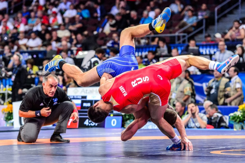 In pictures: 2015 World Wrestling Championships day one of competition