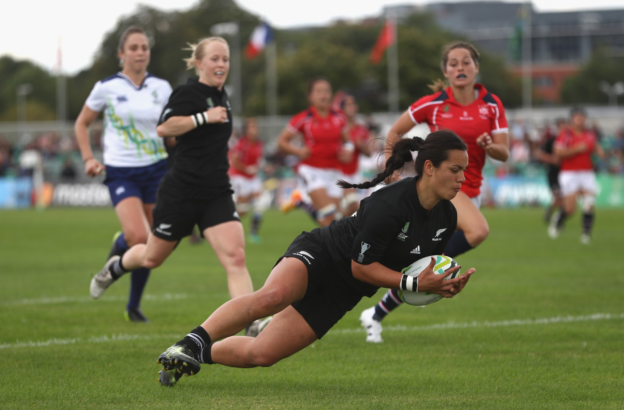 The Women's Rugby World Cup helped boost World Rugby's performance  ©Getty Images