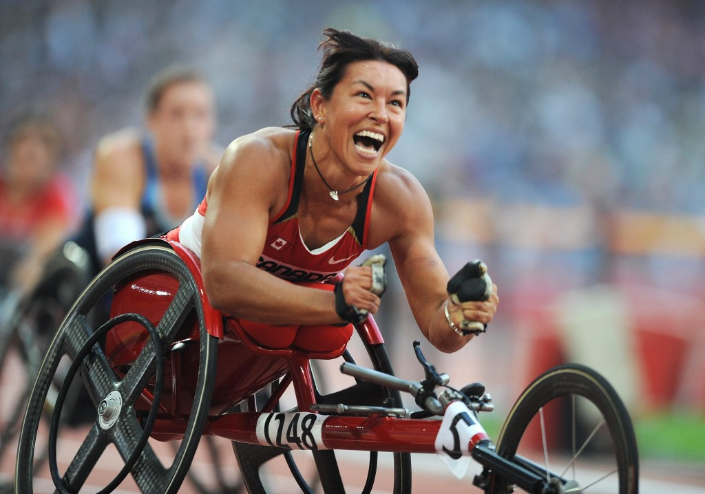 Chantal Petitclerc won 21 Paralympic medals, including 14 golds