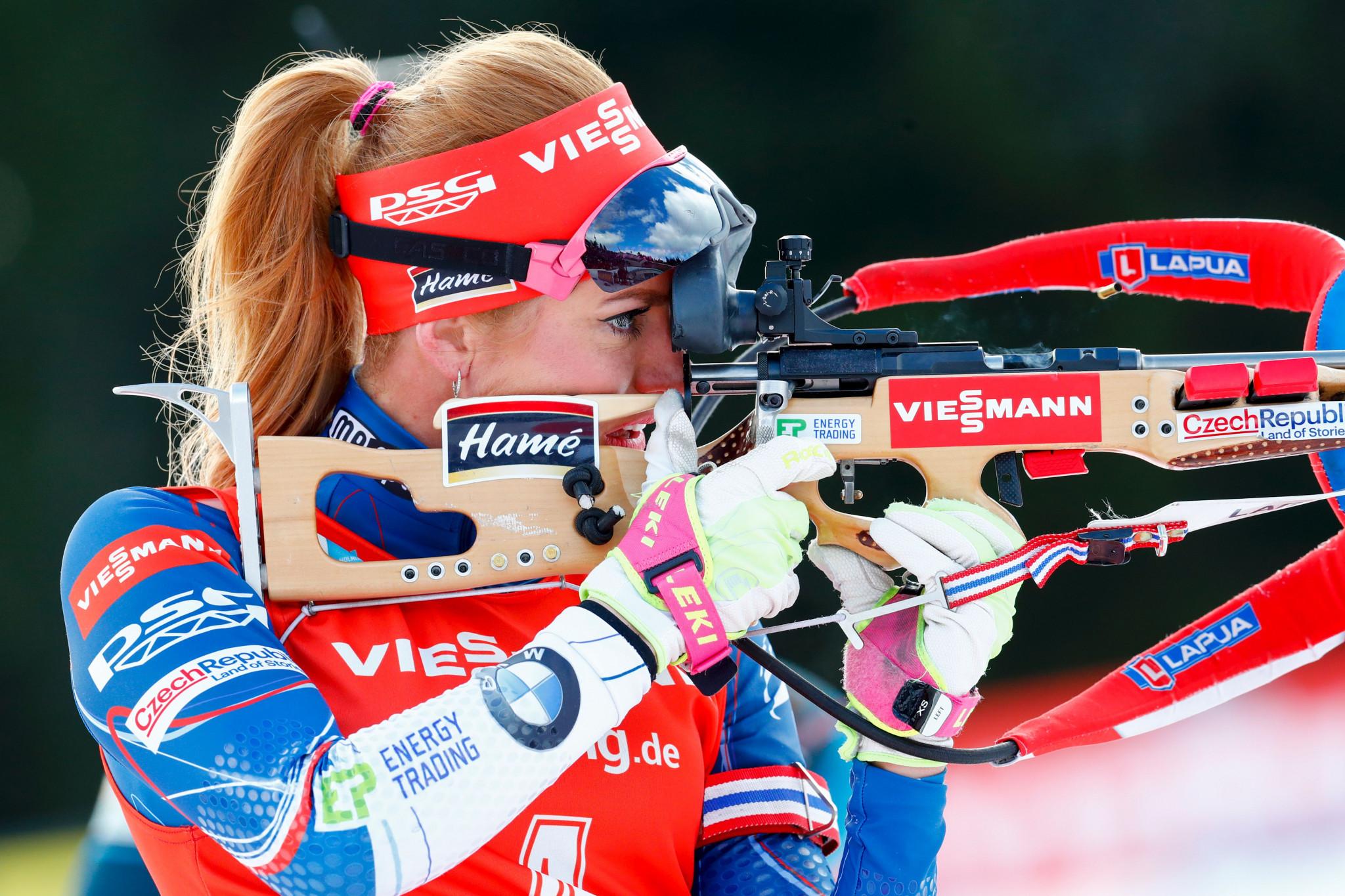 Czech biathlete Koukalová to skip 2018-2019 season