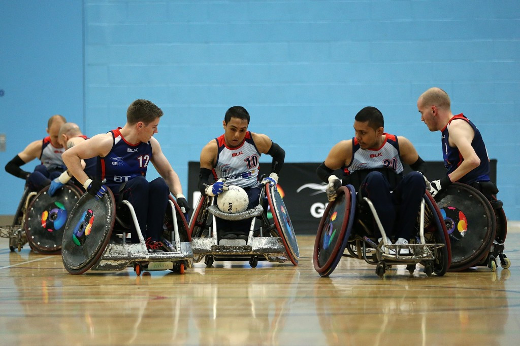 New video released in anticipation of European Wheelchair Rugby Championships