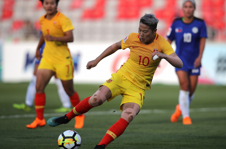 China beats Malditas in AFC Asian Cup