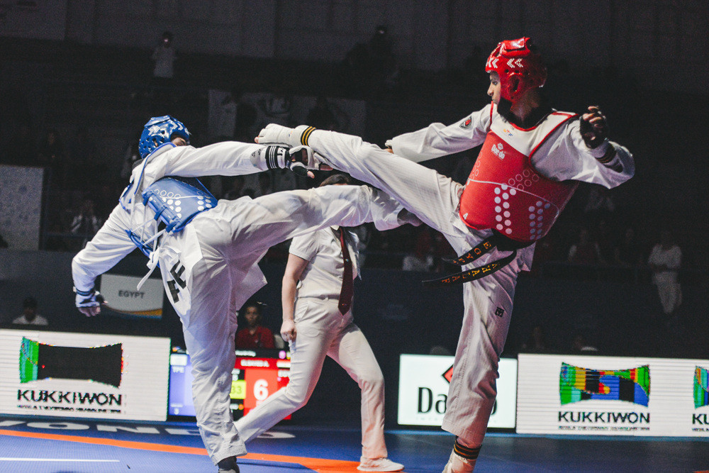 Double gold for South Korea on opening day of World Taekwondo Junior Championships in Tunisia