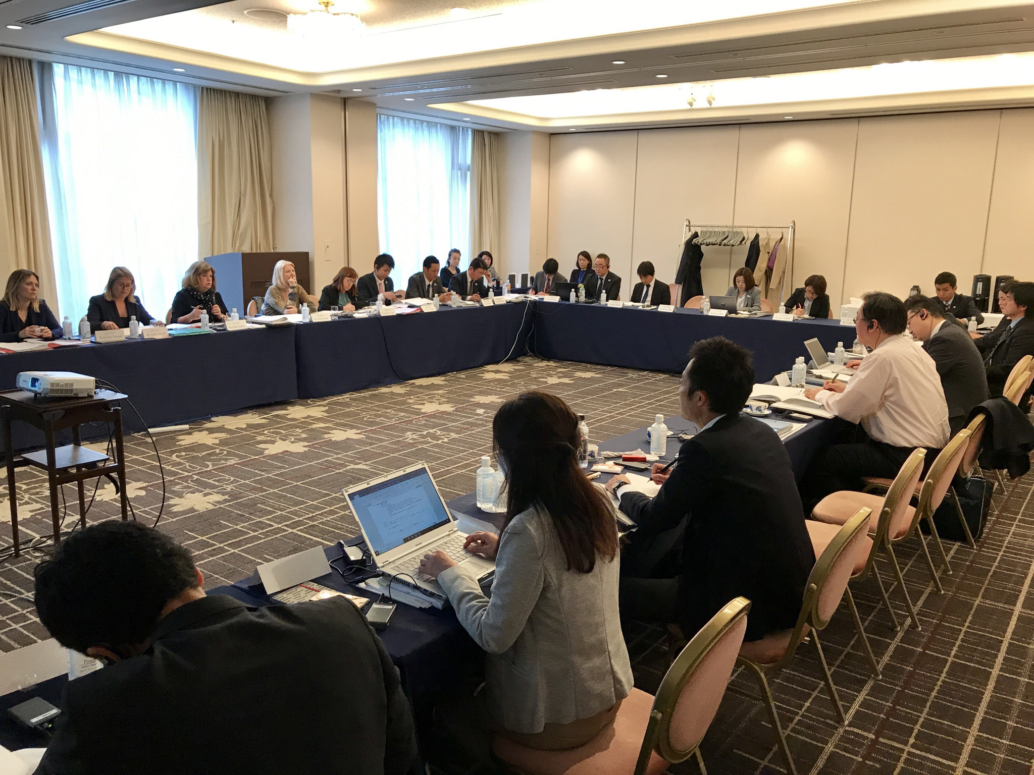 A site visit has taken place in Tokyo for the ANOC General Assembly ©ANOC