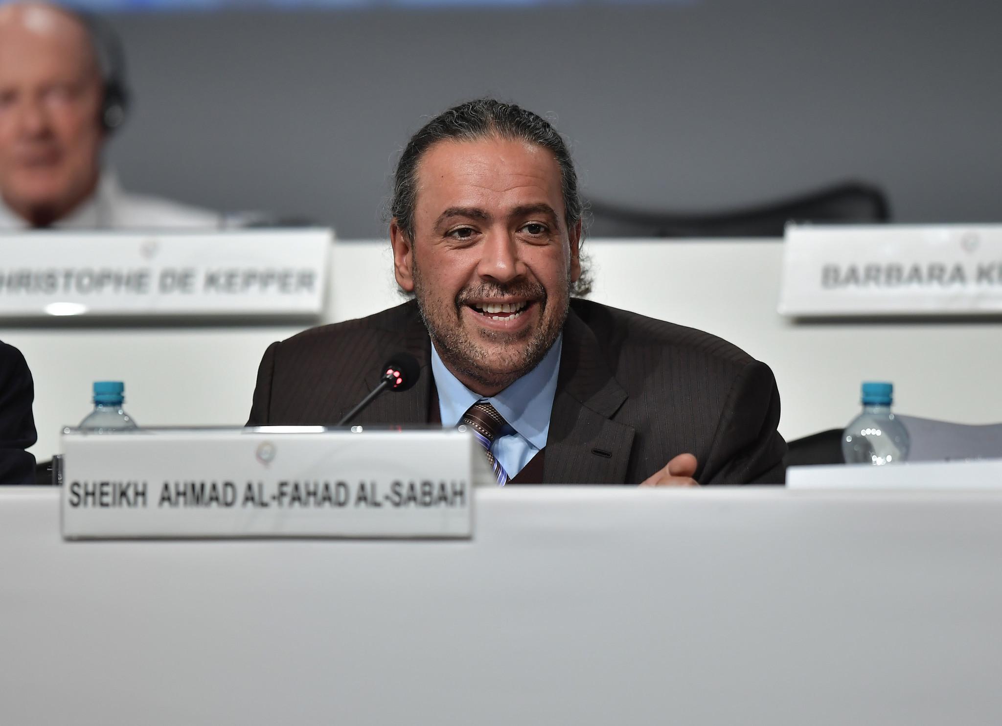 Sheikh Ahmad Al-Fahad Al-Sabah is President of ANOC ©Getty Images