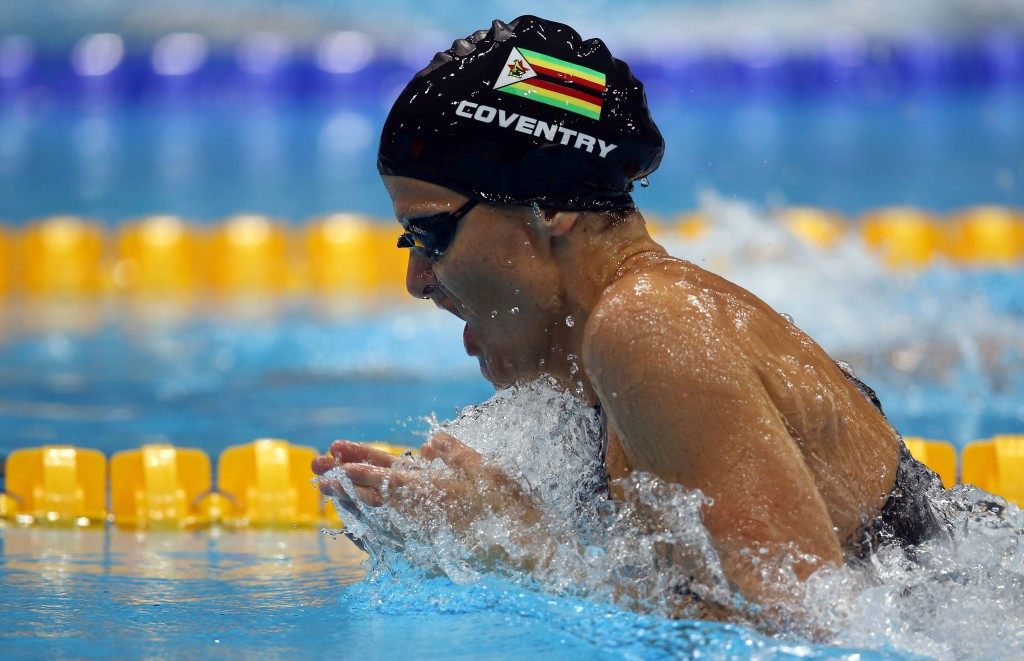 Coventry and Le Clos shine in pool at All-Africa Games