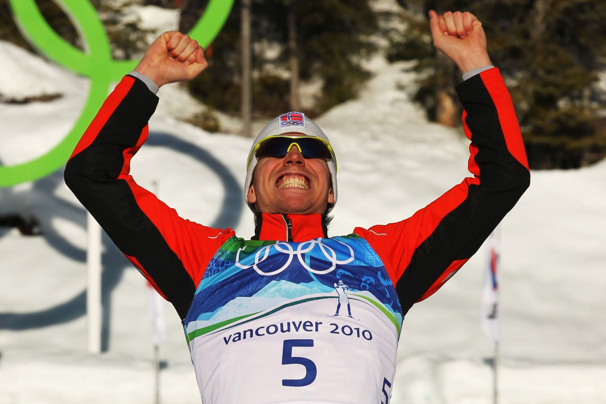 Emile Hegle Svendsen won his first Olympic title at Vancouver 2010 ©Getty Images