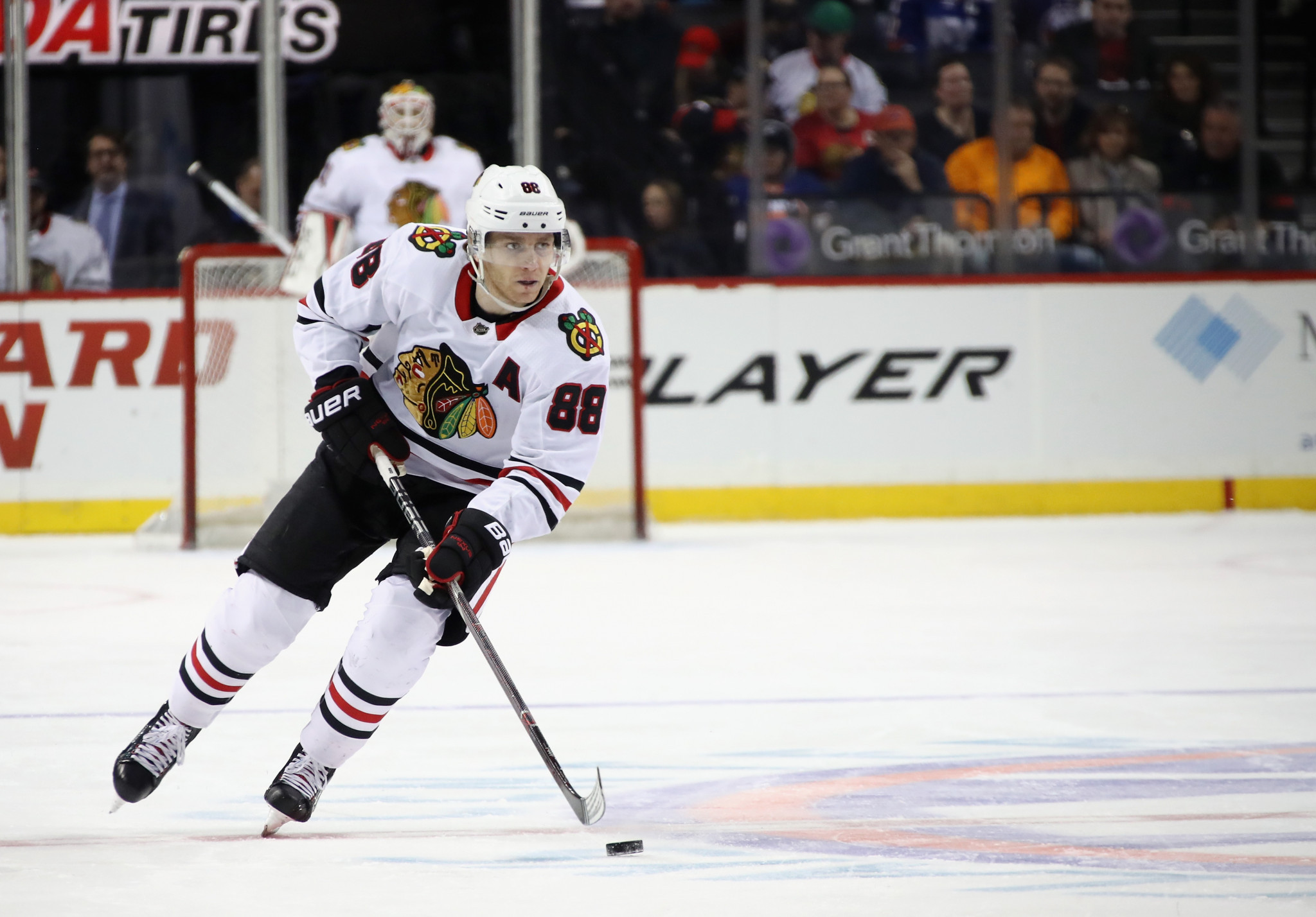 Patrick Kane will captain the US team at the IIHF Men's World Championship later this year ©Getty Images