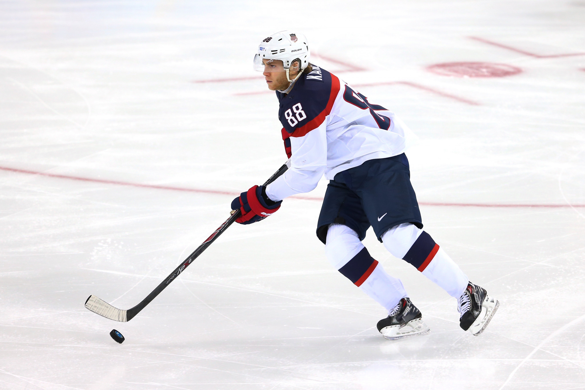Patrick Kane helped the US to a silver medal at Vancouver 2010 ©Getty Images