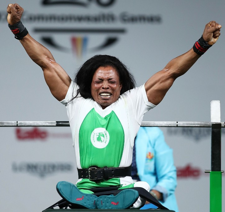 Nigeria win all four powerlifting gold medals at Gold Coast 2018