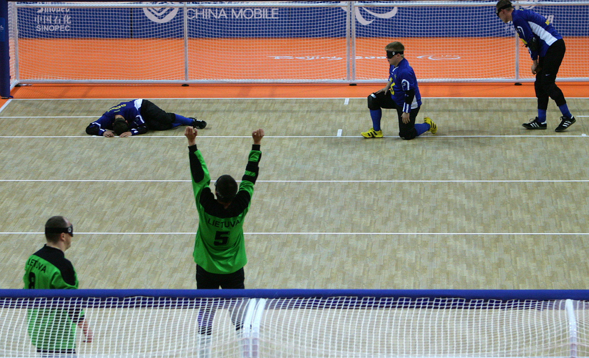 Paralympic champions Lithuania remain top of IBSA goalball world rankings